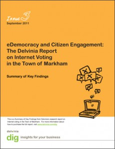 Delvinia Releases DIG Report on eDemocracy and Citizen Engagement