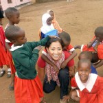 Working with kids in Tanzania