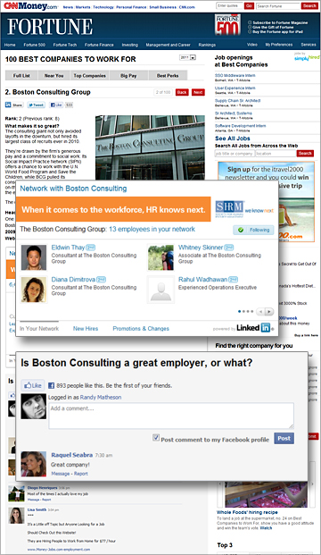 LinkedIn Debuts New Company Insider Widget on '100 Best Companies to Work For' List