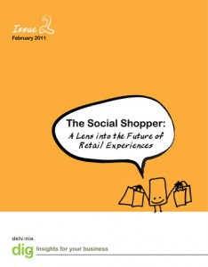 Delvinia Releases Dig Report on the Social Shopper