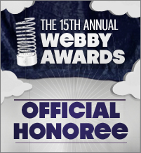 Delvinia Named an Official Honoree of the 15th Annual Webby Awards