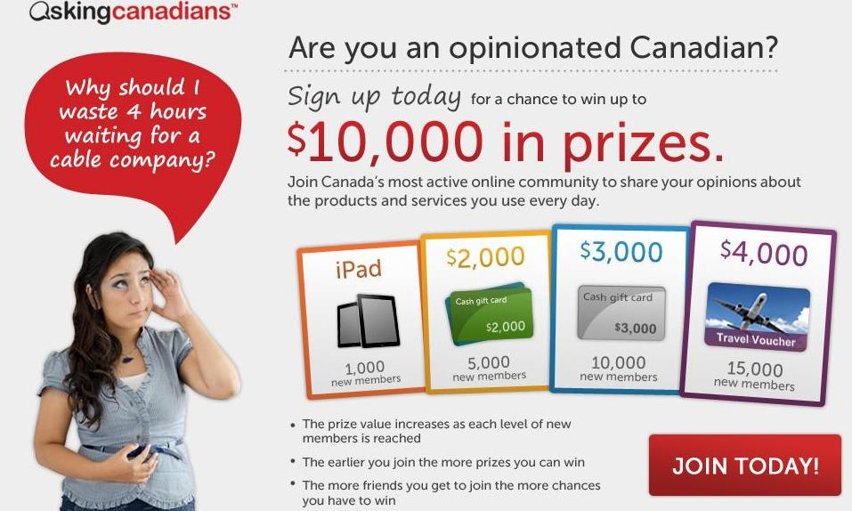 AskingCanadians™ Launches Social Media Recruitment Campaign
