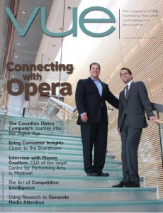 Vue Magazine Profiles Delvinia and the Canadian Opera Company