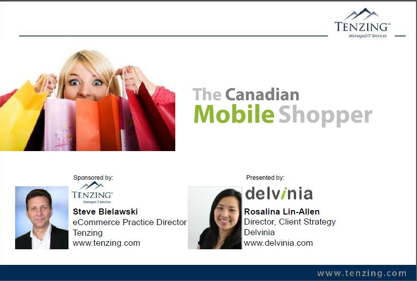 Webinar Recording: The Canadian Mobile Shopper
