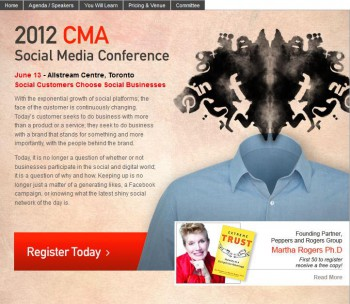 Speaking Engagements: 2012 CMA Social Media Conference