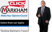 City of Markham � Click with Markham Program