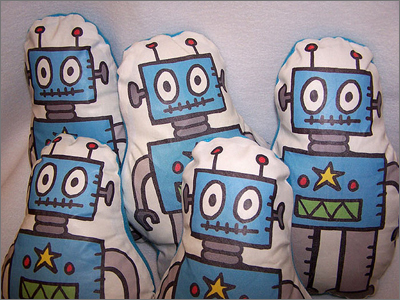 Robots from Flickr by jelene