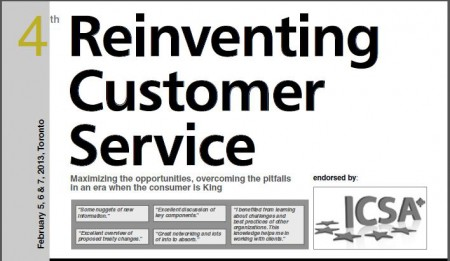 Speaking Engagements: Reinventing Customer Service Conference