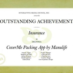 Manulife Financial's Mobile Travel App Wins IMA Outstanding Achievement Award