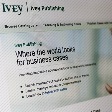 Ivey School of Business - Ivey Publishing