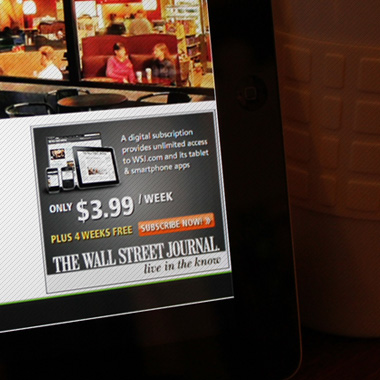 The Wall Street Journal - Canadian Online Subscription Acquisition Program