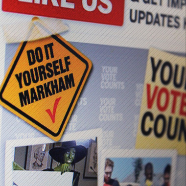 City of Markham – DIY Markham Social Media Program