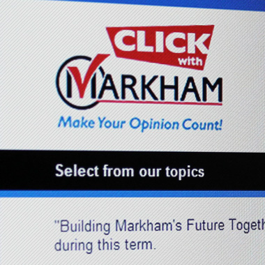 City of Markham – Click with Markham Program