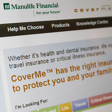 Manulife Financial - CoverMe.com Transactional Site Redesign
