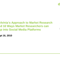 10 Ways Market Researchers can Tap into Social Media Platforms