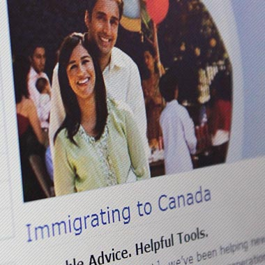 RBC – Welcome to Canada Microsite Redesign