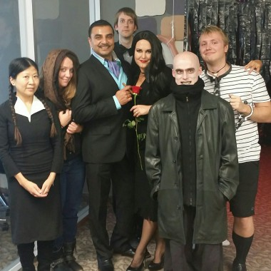 Delvinia's Halloween haunted house competition: Vote for The Addams Family