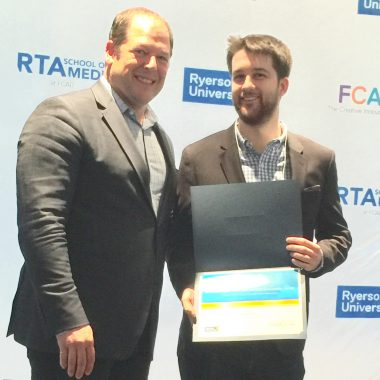 3rd Annual Delvinia Scholarship Awarded at Ryerson