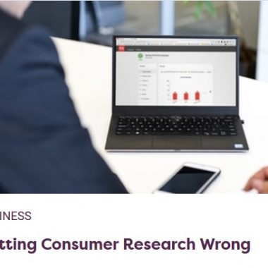 Getting Consumer Research Wrong