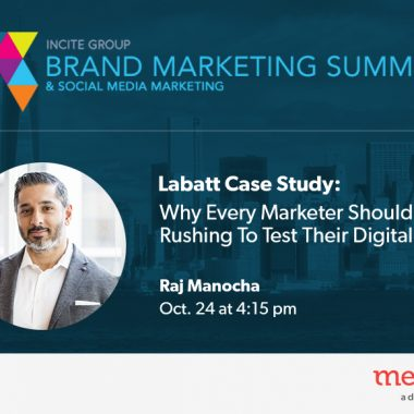 Speaking: Brand Marketing Summit & CMAfuture