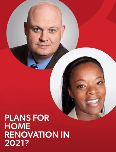 INDUSTRY - 2021 Home Renovation Plans - AskingCanadians by Delvinia
